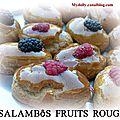 Les salammbos aux fruits rouges
