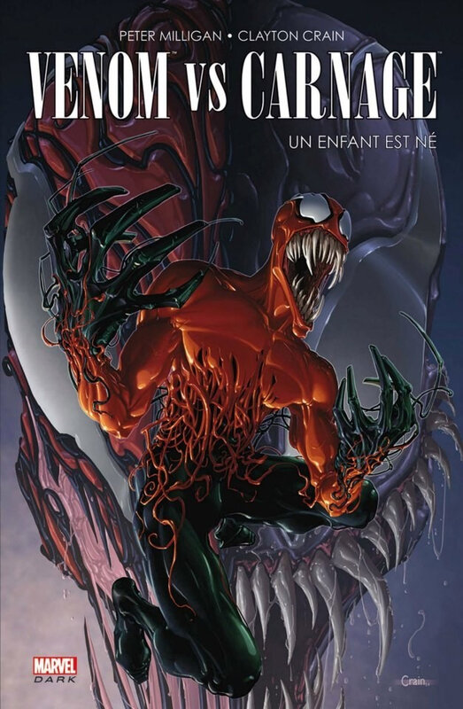 marvel dark venom vs carnage un enfant est né