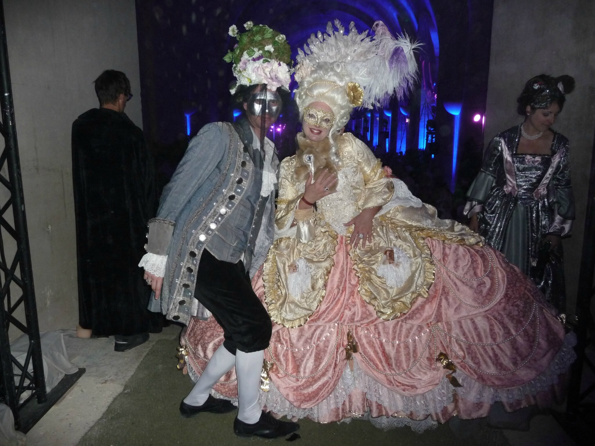 Bonne année 2015 à tous! Grand Bal Masqué à Versailles!
