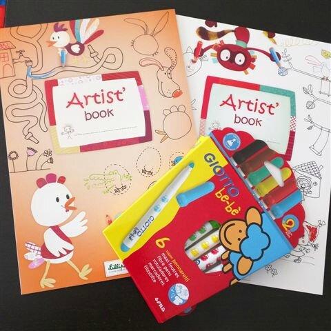 Kit Lilliputiens pour ptits artistes ©Kid Friendly