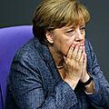 Angela merkel va-t-elle perdre son poste de chancelière ?