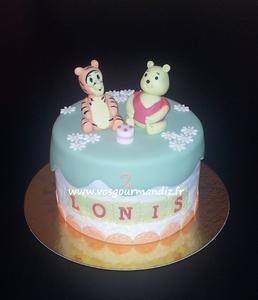 Gâteau Winnie et Tigrou