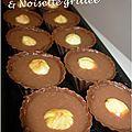 Chocolats pralinés & noisette grillée