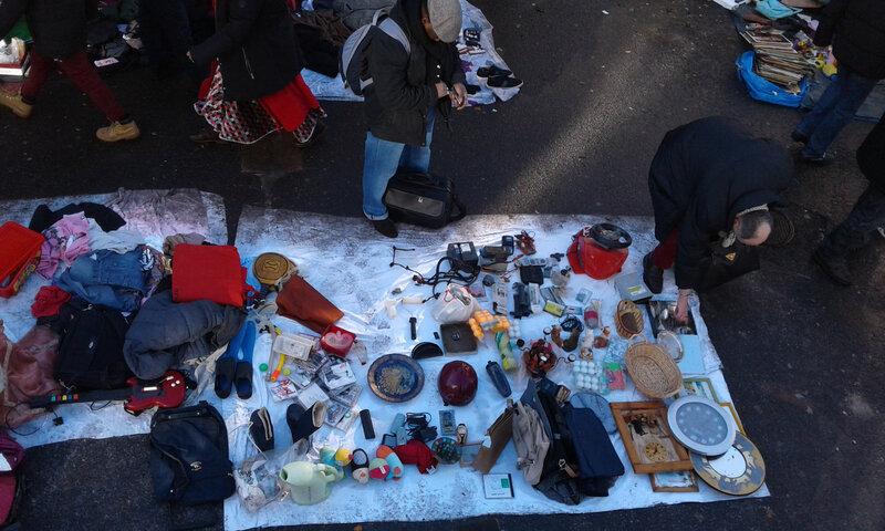 Journée mondiale des récupérateurs recycleurs biffins. vendredi 1er mars 12h-18h place de la rotonde de la villette Paris 19eme