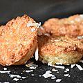 Petits biscuits moelleux à la noix de coco