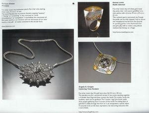 Capturing Time Pendant by Angela B Crispin in Holly Gage Calendar Feb 2012
