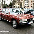 Peugeot 604 V6 TI (Retrorencard janvier 2013) 01