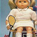 Pour le tennis a l'aiguille