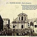 Ancien Nantes - entrée du Duc de Rohan