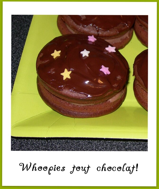 Whoopies double chocolat