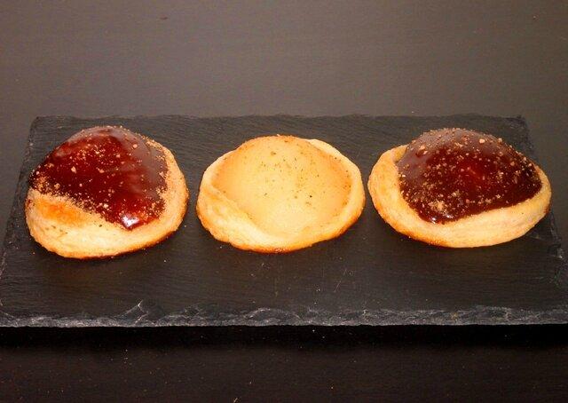 Mini tartelettes feuilletée poires chocolat