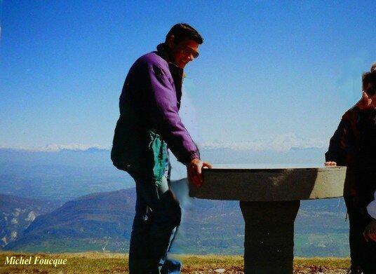 559) Rando pédestre sur le Grand Colombier (Ain)