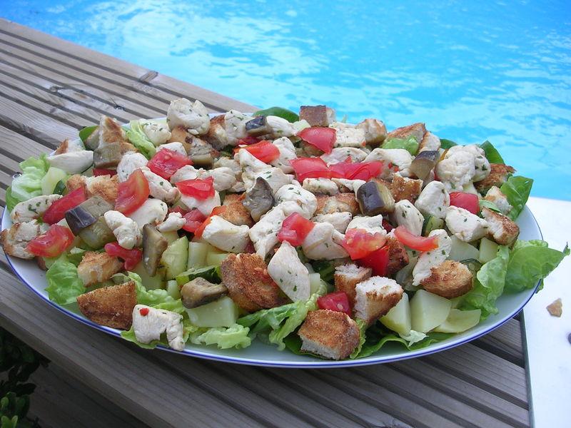 Salade Repas Dans La Cuisine De Corinne
