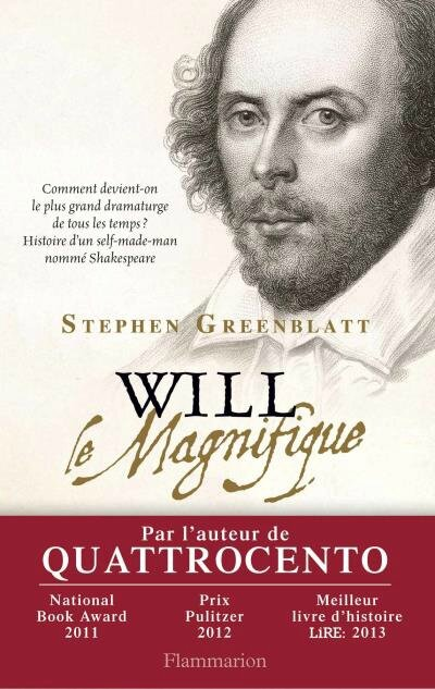 WILL le Magnifique, Stephen Greenblatt