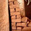 Des briques faites à la main
