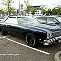 La chevrolet impala 2door hardtop coupé de 1973 (rencard burger king aout 2011)
