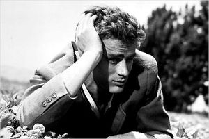 James Dean dans A l'est d'Eden Photo Elia Kazan
