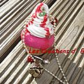 cupcake chantilly framboise