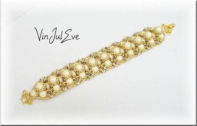 bracelet Sabac jaune or
