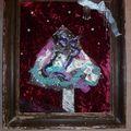 Sapin de Noël, en art textile