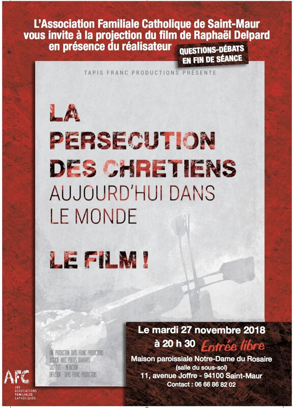 FLYER FILM PERSECUTION SAINT-MAUR TEL