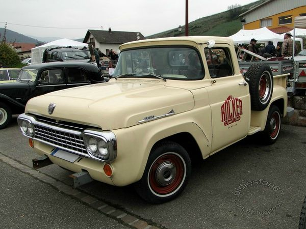 ford f100 flareside 1958 3
