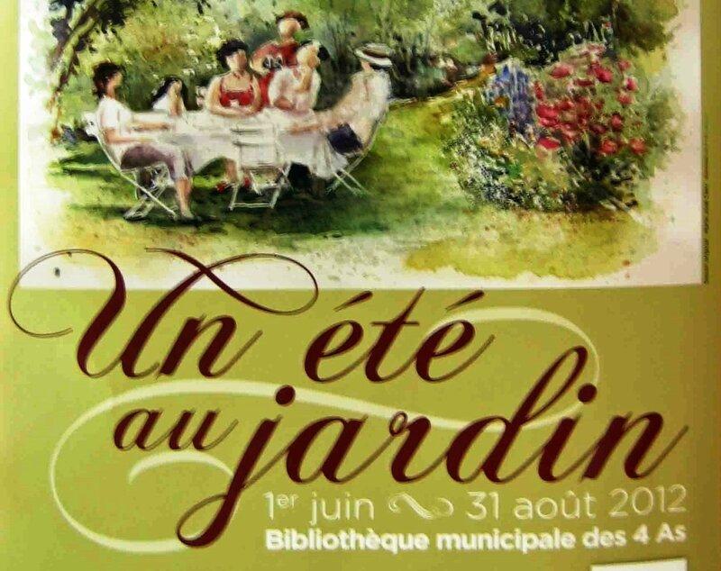 Affiche Un été au jardin R
