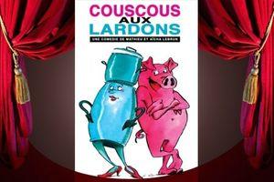 Affiche couscous aux lardons
