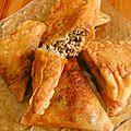Bourek traditionnel à la viande haché et au fromage