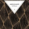 Livre : le garçon de marcus malte - 2016