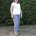 Pantalon sunny et opération destockage