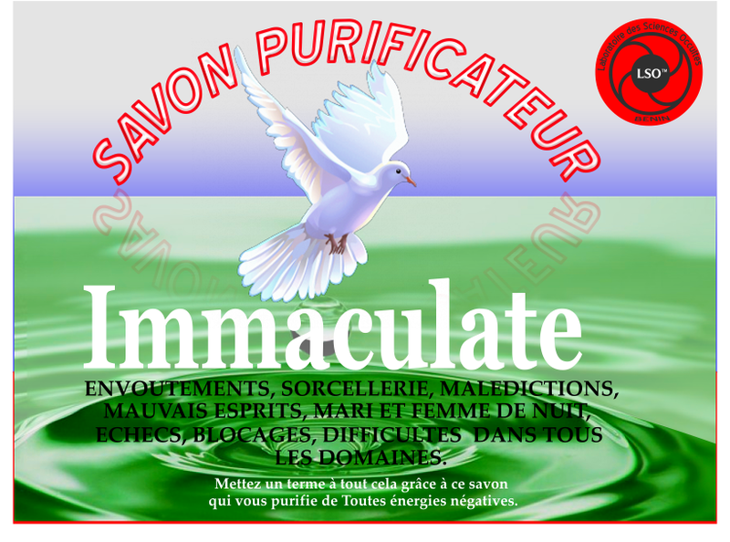 SAVON PURIFICATEUR IMMACULATE