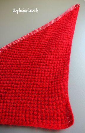 tuto tricot chale, comment tricoter un chale