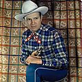 Gene autry : un trichrome de harry warnecke