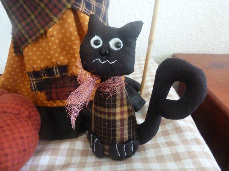 le chat de la sorcière Prue