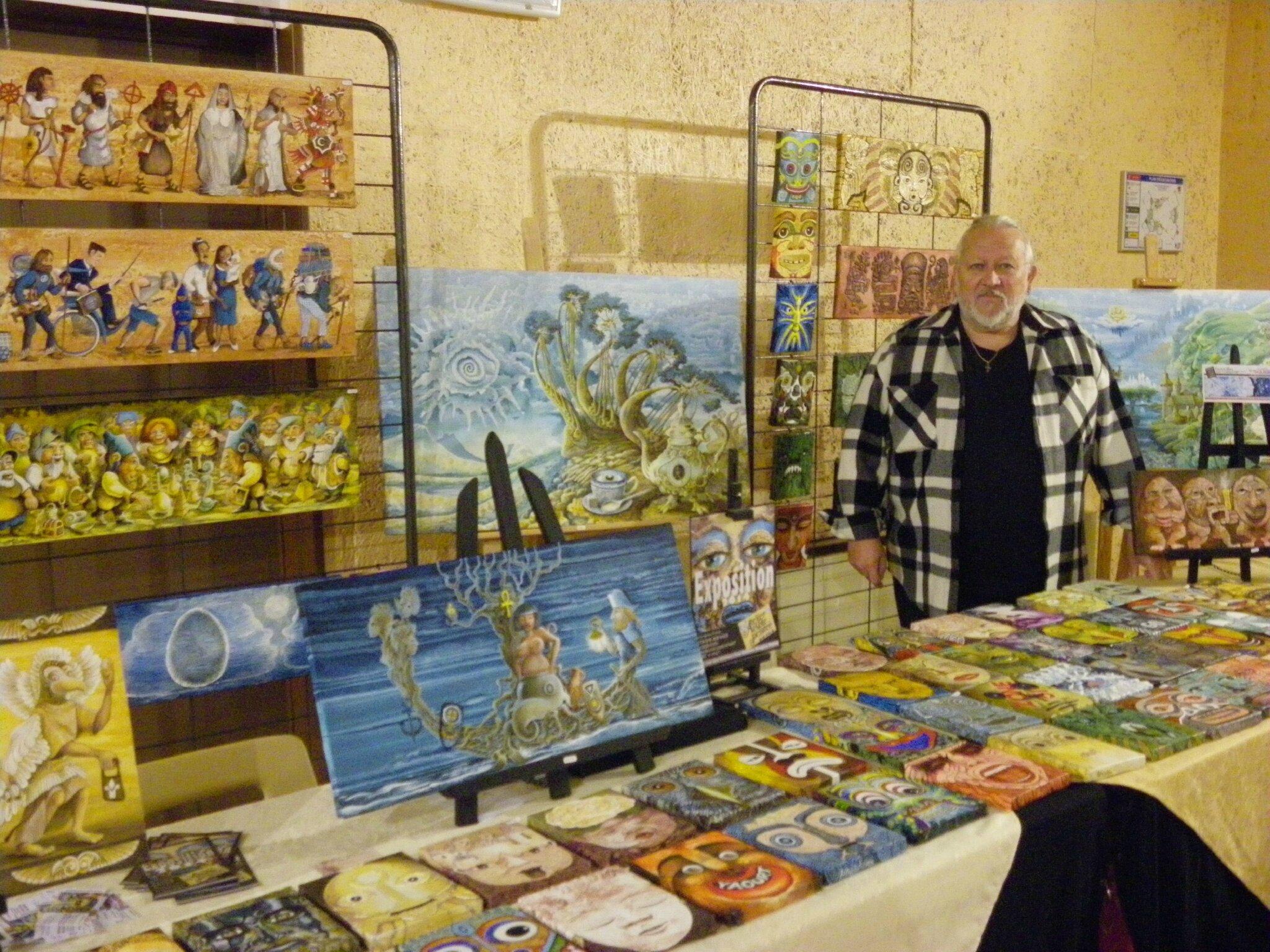 Marché de l'Art Ezy-sur-Eure... 2013