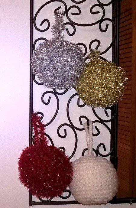 une déco de Noël par mois les boules de janvier