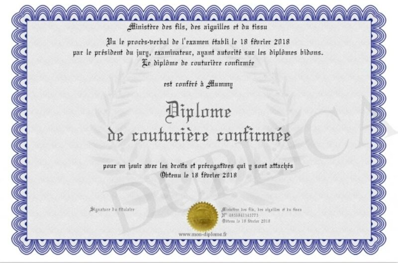 diplome couture