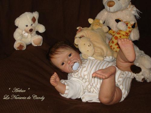 16 baby new reborn arthur