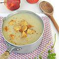 La soupe de panais et pommes