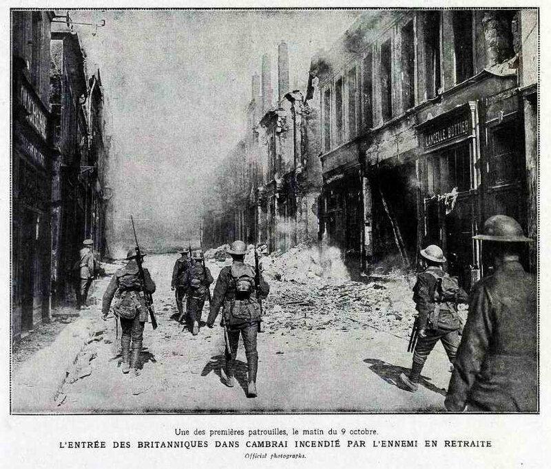 Cambrai sous le feu