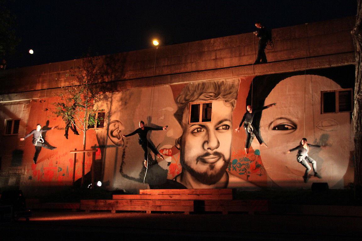 Cie Les Passagers - Walldance -Les voies du mur + Mouarf_0312