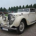 Bentley 4 1/4 litre drophead coupé 1937