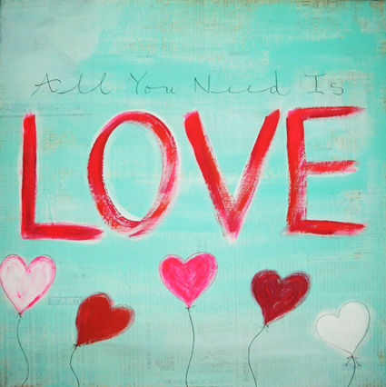 All you need is love - VENDU