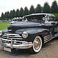 Chevrolet fleetline 2door aerosedan 1948
