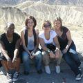 Vallée de feu : Sylvie, Sandra, Eva, Florie