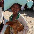 Visages d'Addis Abeba : Jeune garçon au marché