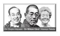 Hayashi, Mikao Usui, Takata