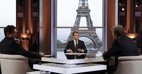 Macron entretien Bourdin Plenel