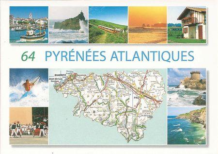 64 pyrénées atlantiques'
